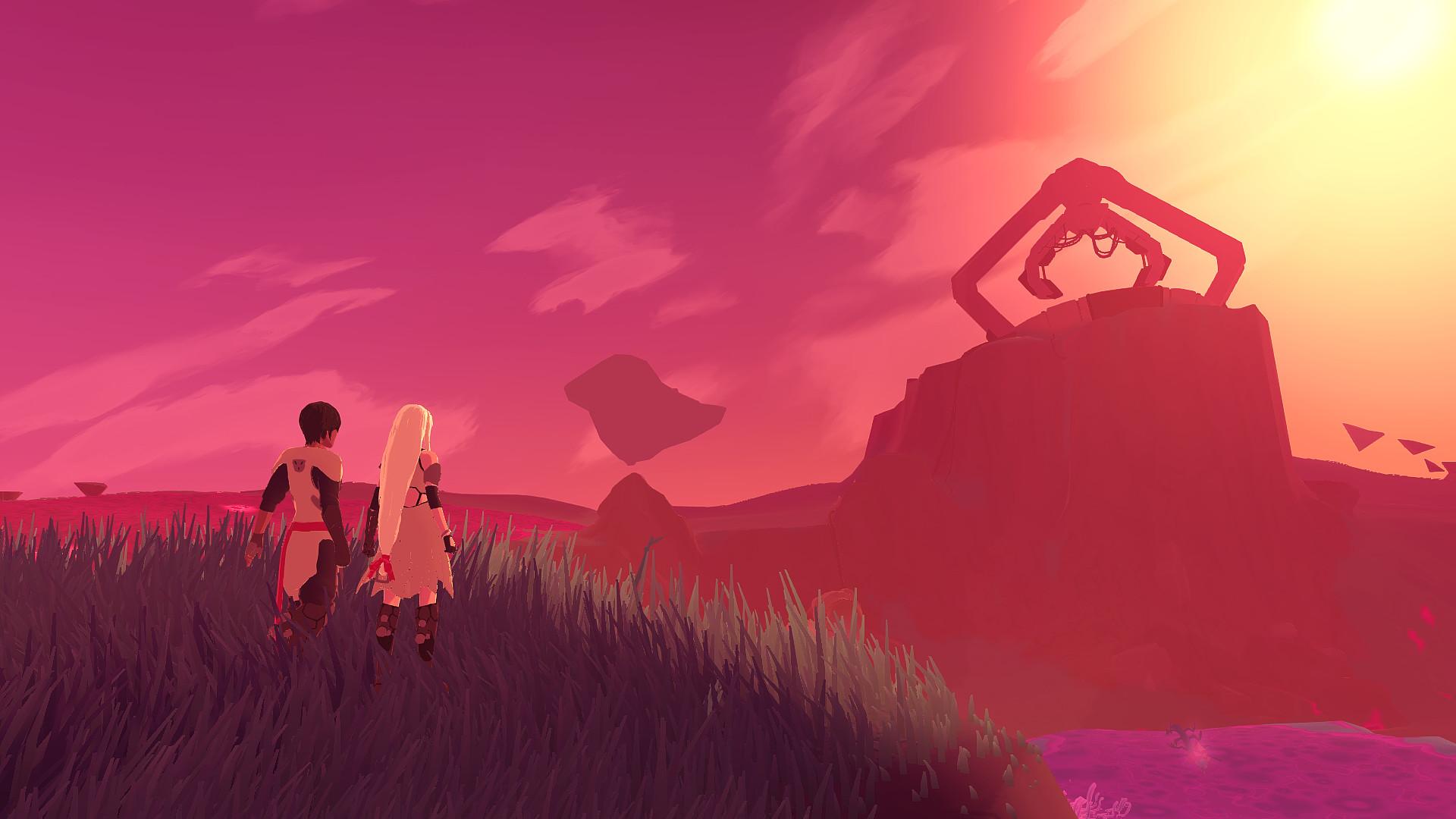 Developers of Furi announce new title sci fi romance Haven