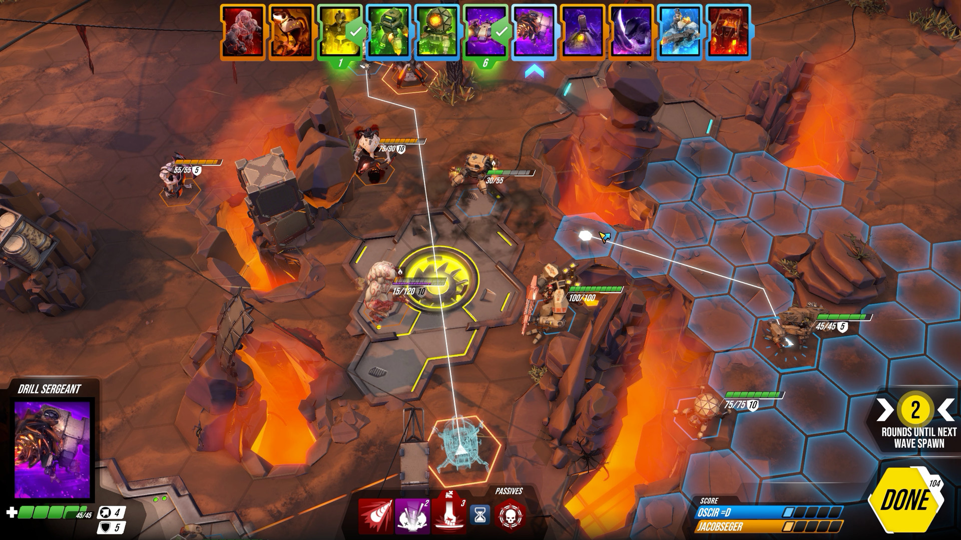 Online turn-based strategy game Batalj out on PC