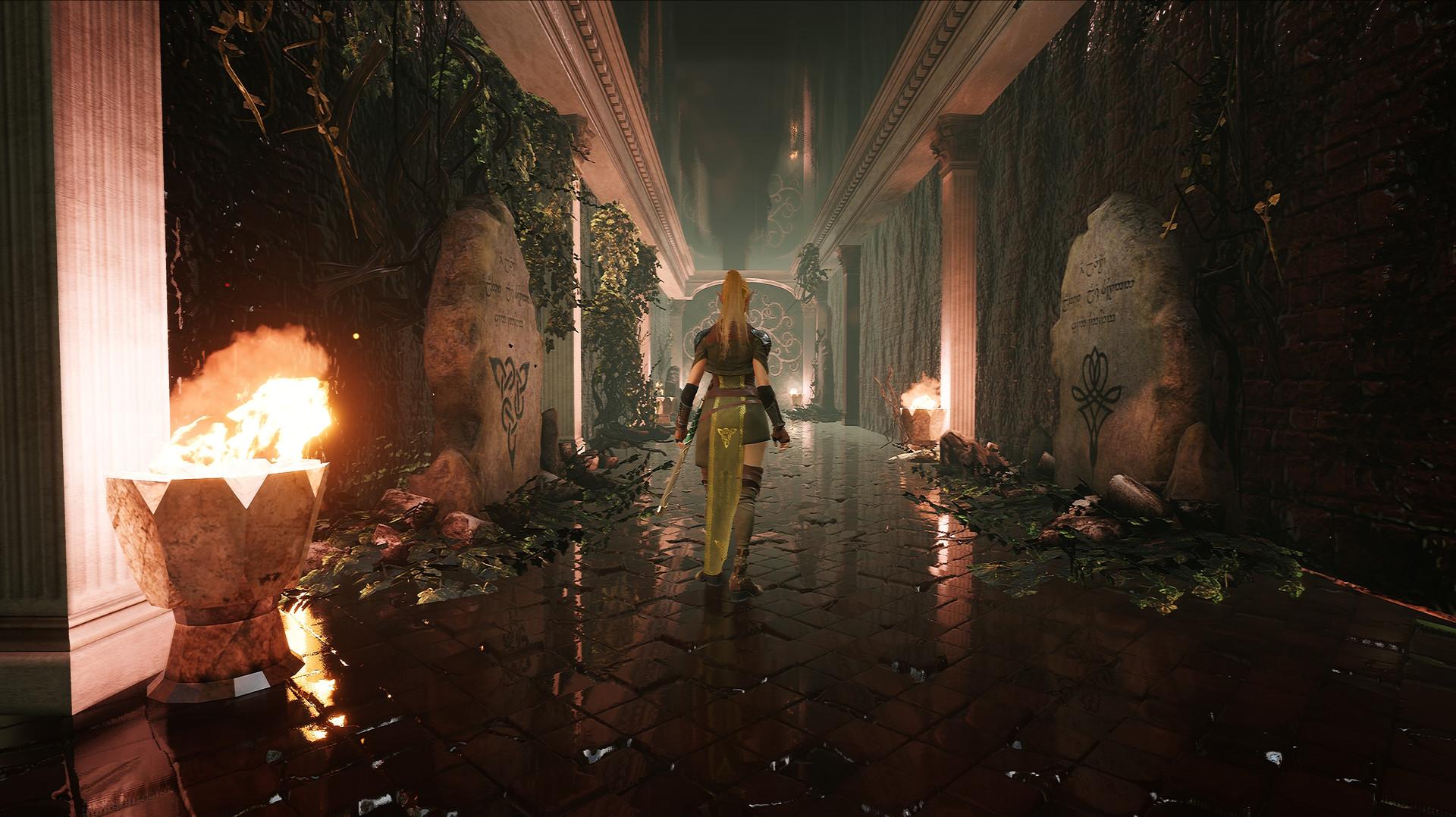 Eternity: The Last Unicorn - Hallway
