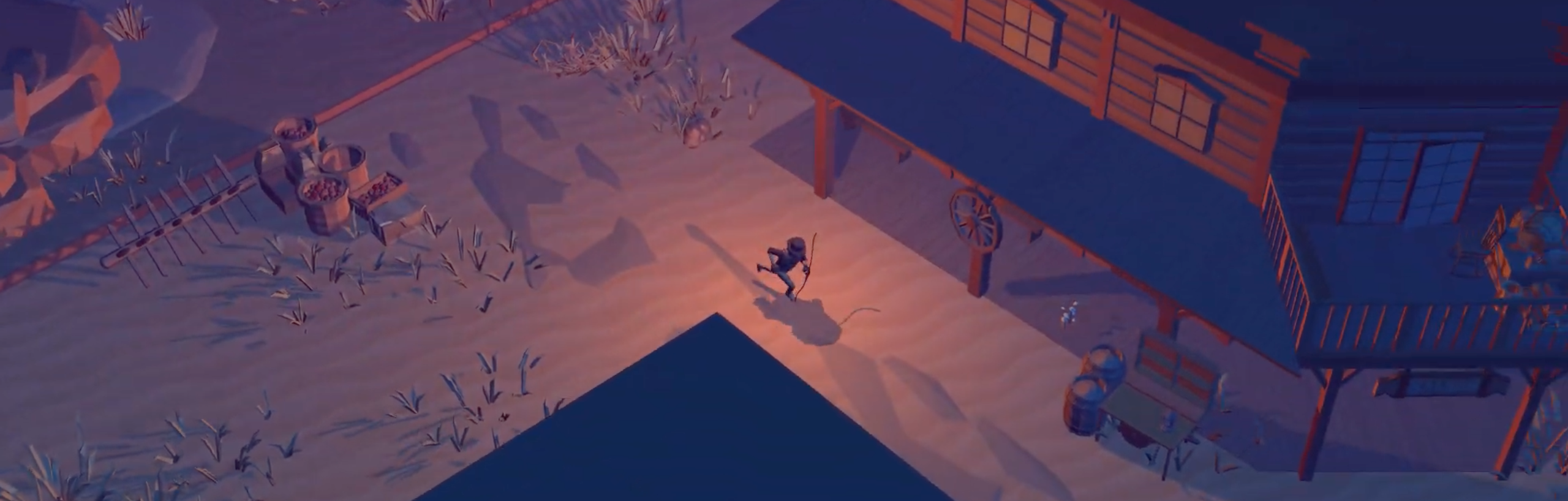 Hack and slay the cowboy undead in new Lonesome demo