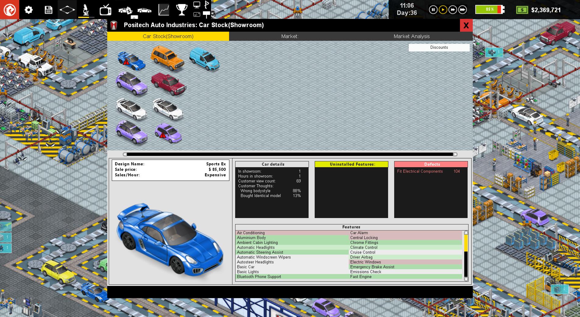 Production Line: Car factory simulation