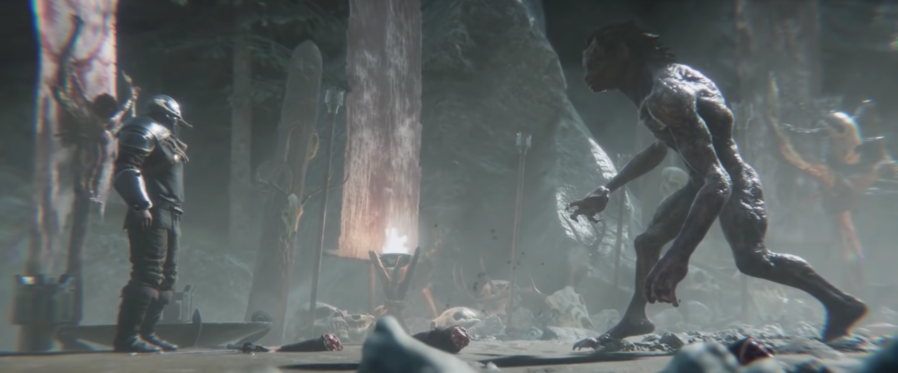 Darkborn's new trailer doesn't hold back on violence and gore