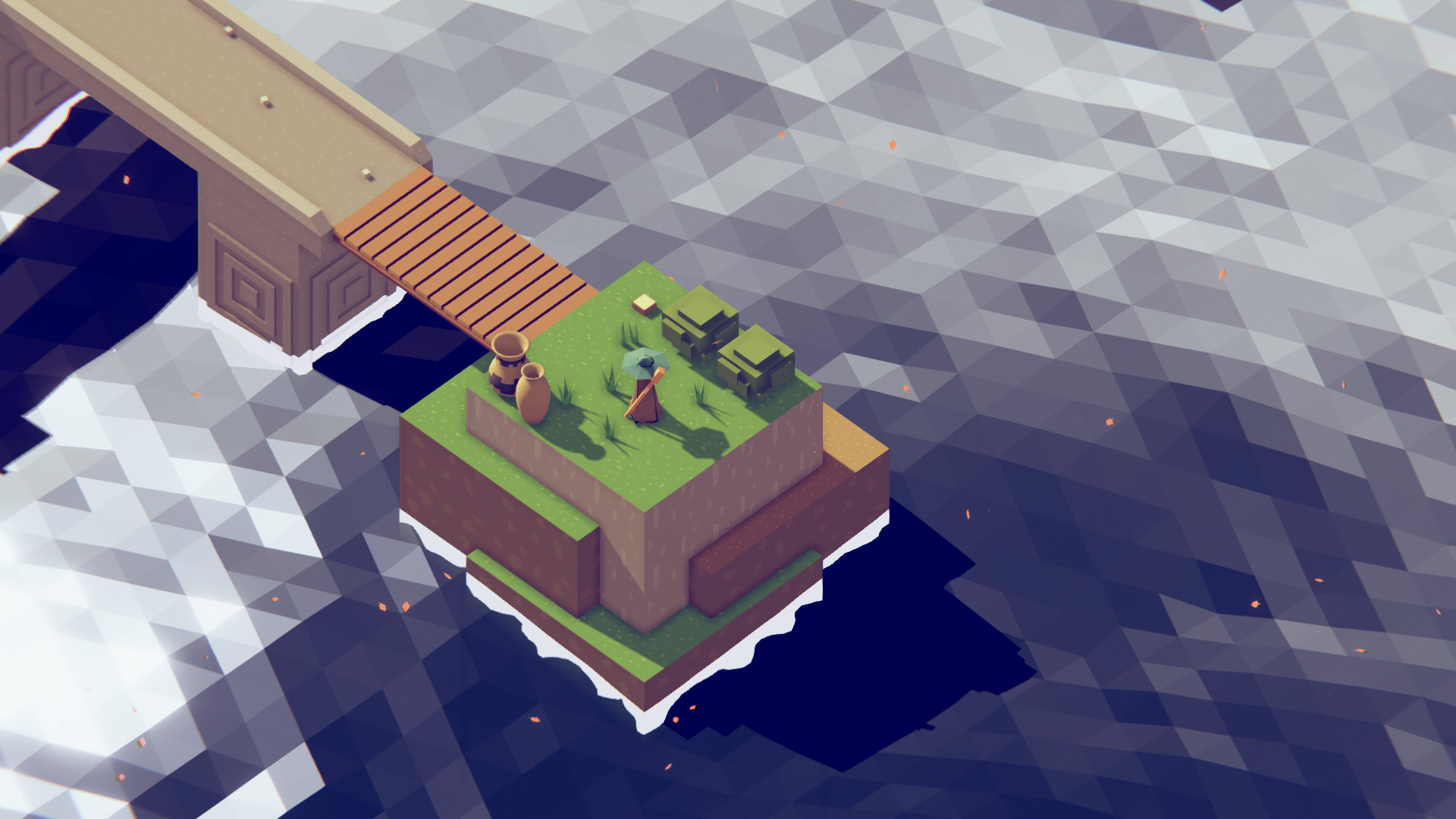 Leaf release trailer is a stunning journey through a geometric world