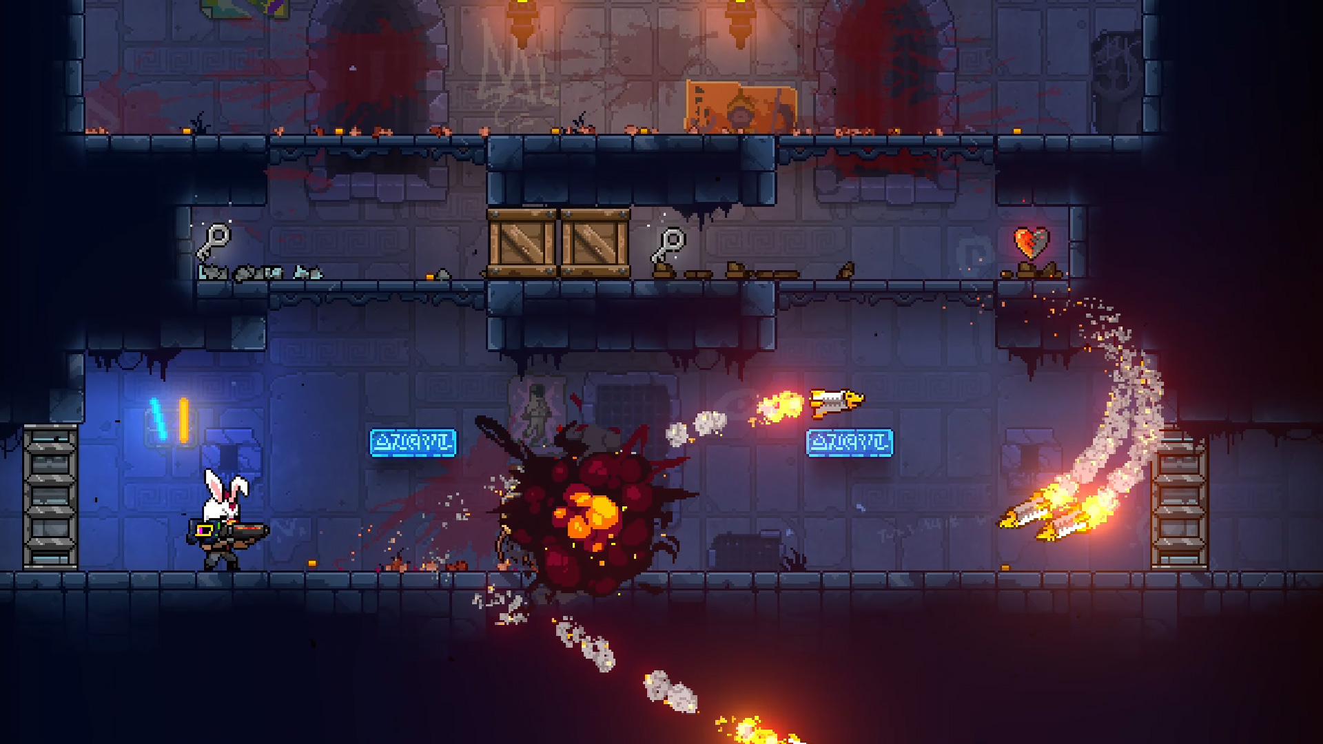 Neon Abyss brings frenetic rogue-like fun to dungeon crawling