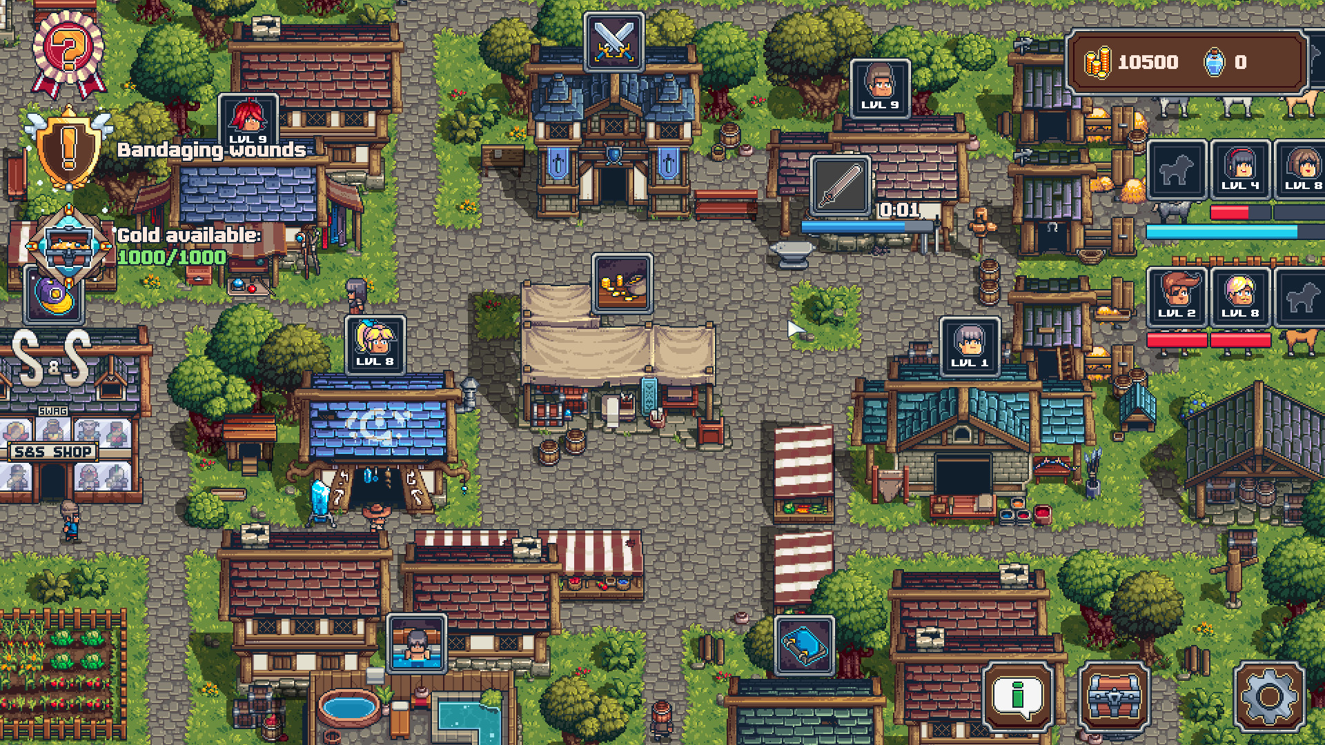 Swag and Sorcery - Village