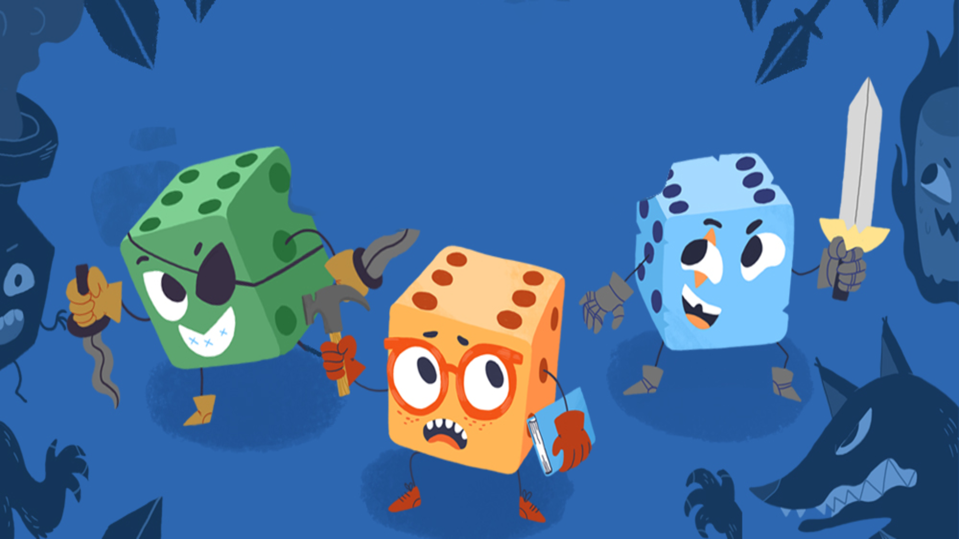 Dev Q&A: How 90's TV Game Shows Inspired Dicey Dungeons