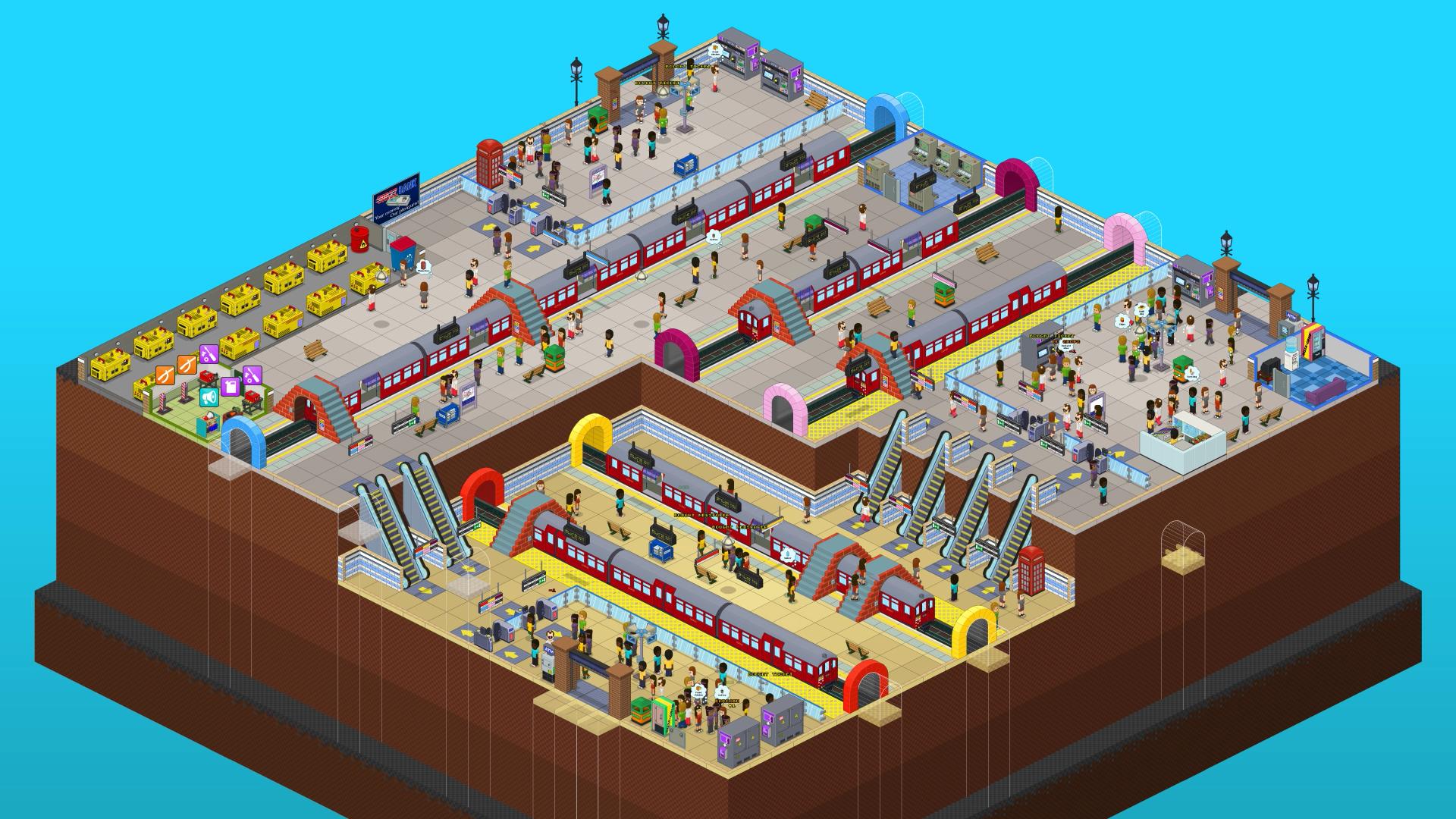 Overcrowd - Full Station