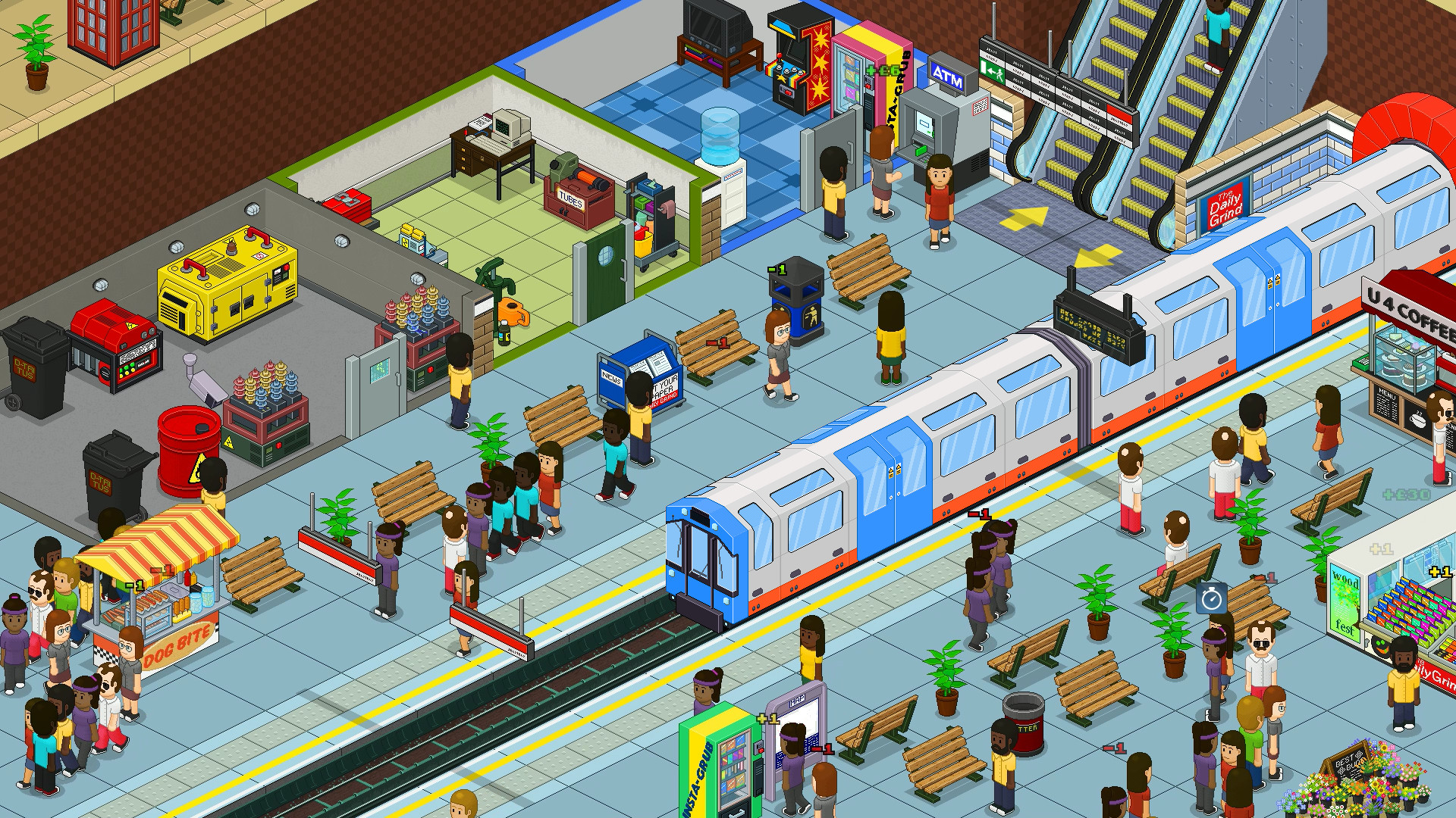 Overcrowd: A Commute 'Em Up Early Access Review