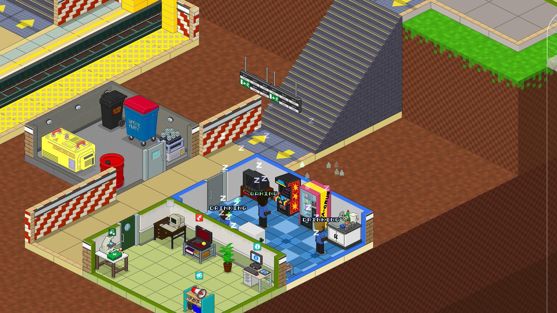 Overcrowd - Staff Room