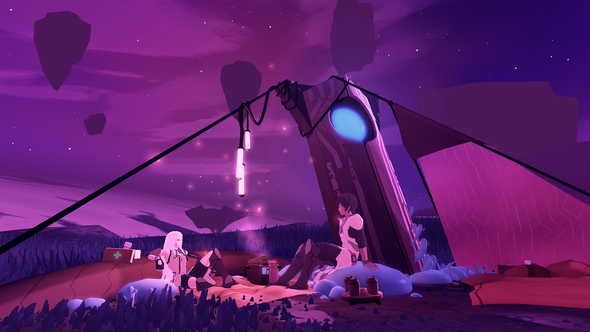 Things get steamy in Furi developer's new sci-fi game Haven