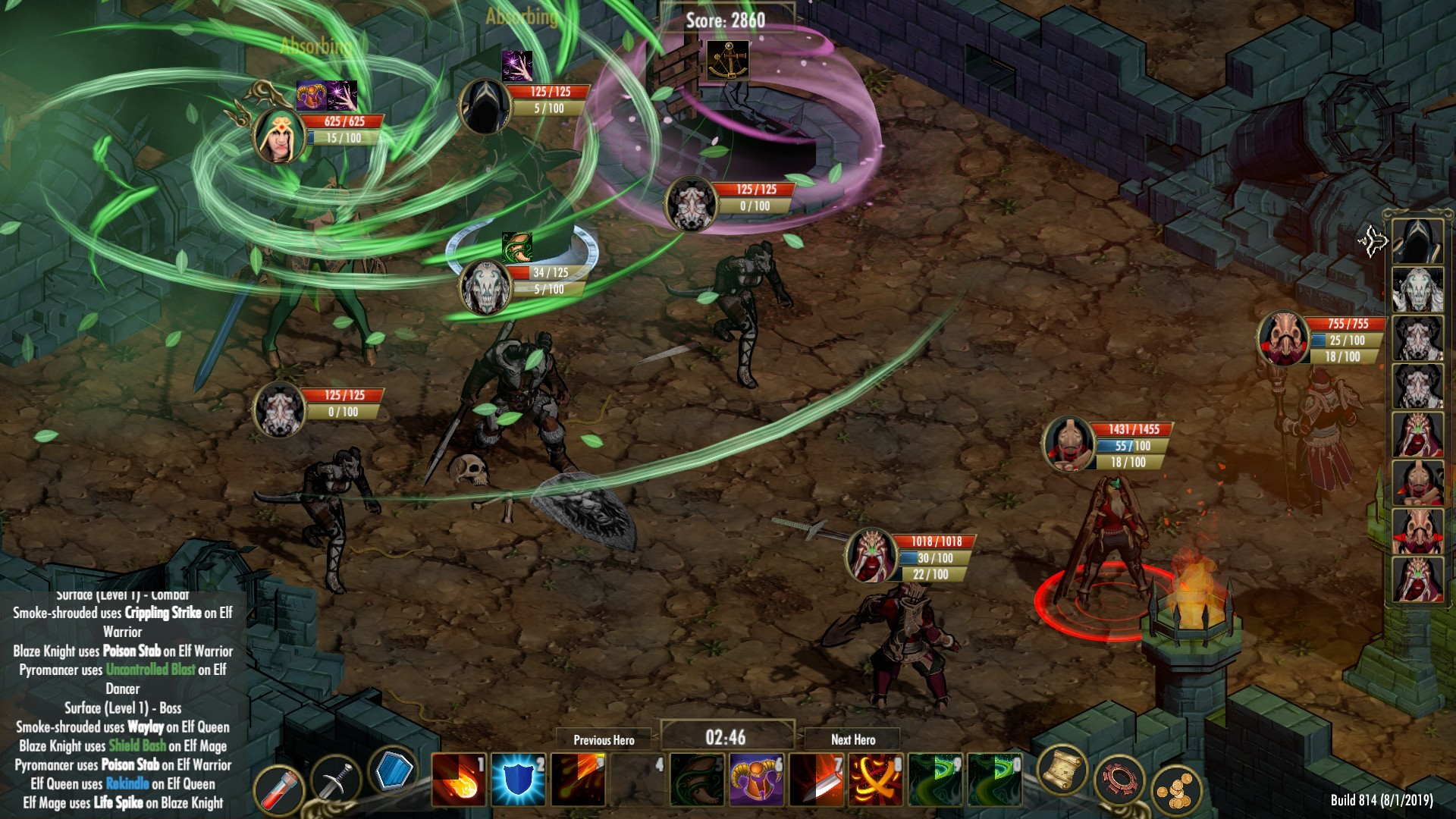 Emberlight is a classic roguelike/dungeon-crawler with a twist