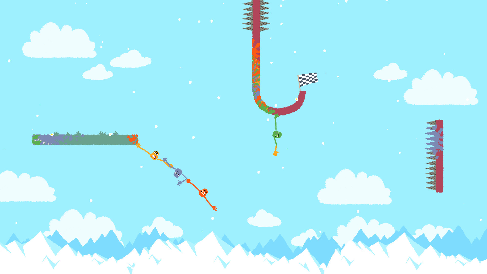 Co-op game Heave Ho will put the best of friendships to the test