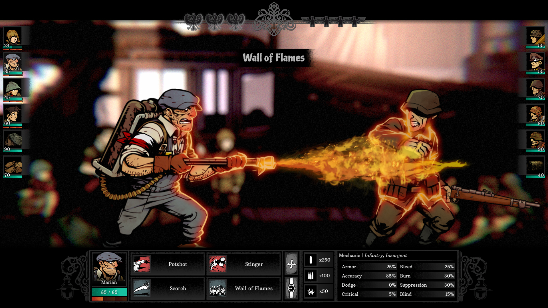 Take your turn in history in war torn tactical RPG Warsaw