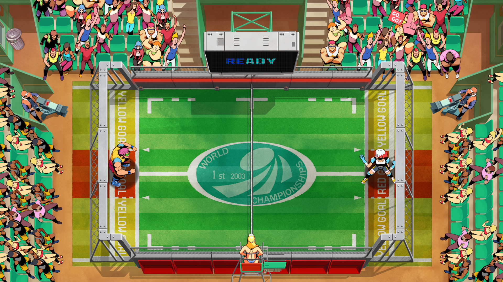 Windjammers 2 Devs Talk New Characters, Controls, and Dog Distance