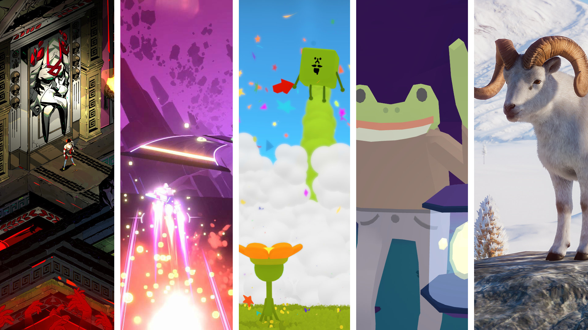 Review Roundup: Wattam, Frog Detective, Hades & More!