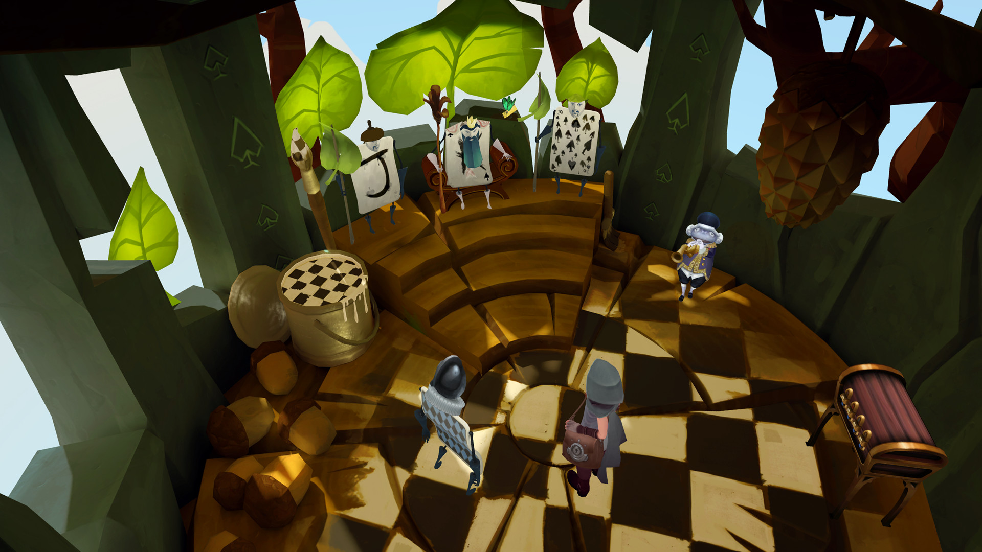 Down The Rabbit Hole Sends You To VR Wonderland