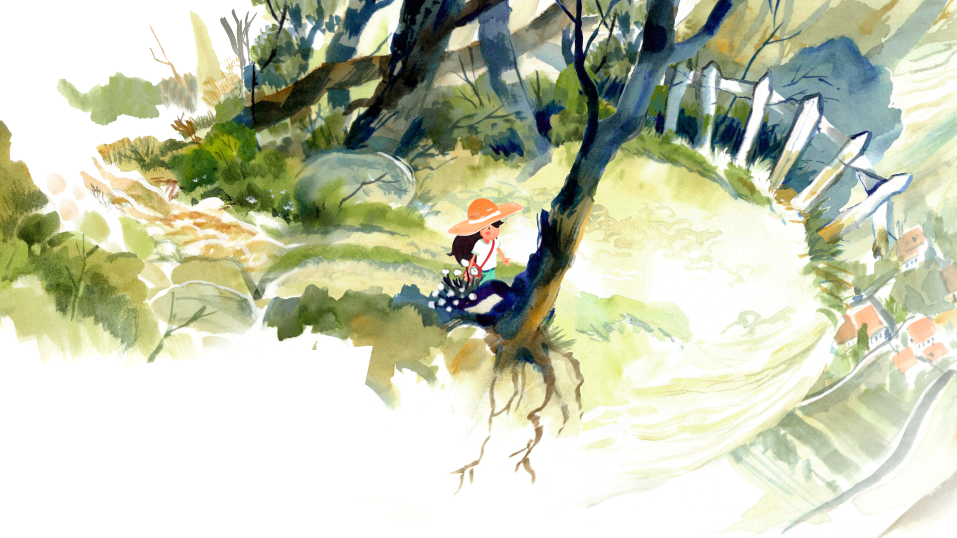 Dordogne Looks Like The Watercoloured Hug We All Need