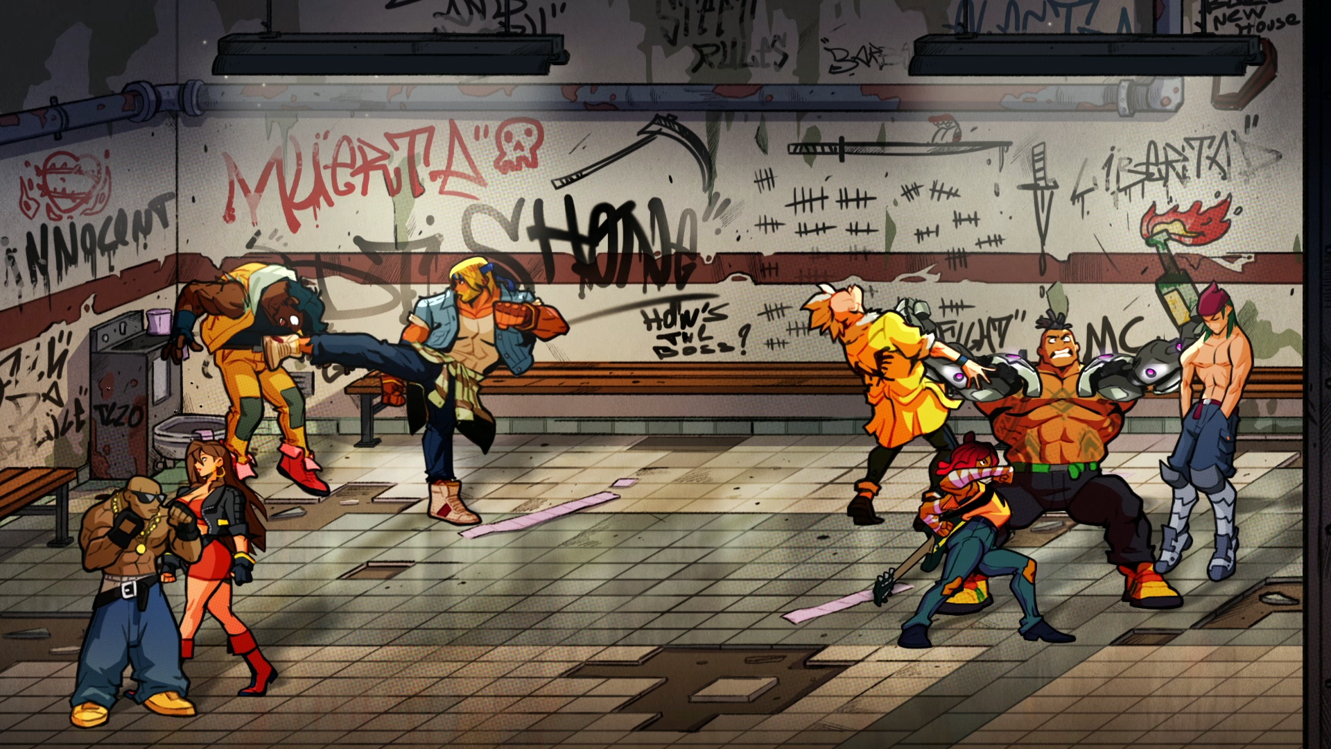 The Latest Streets Of Rage 4 Trailer Is Weaponized Nostalgia