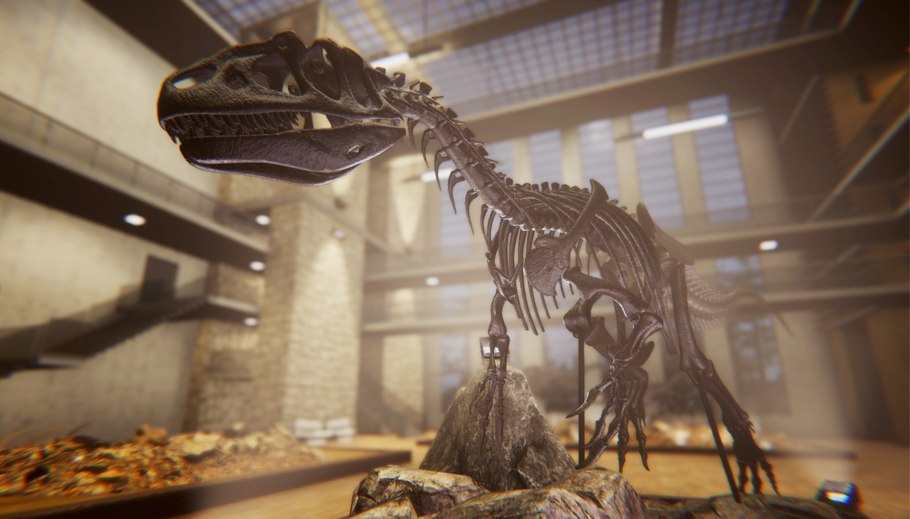 Make Your Own Museum In Dinosaur Fossil Hunter