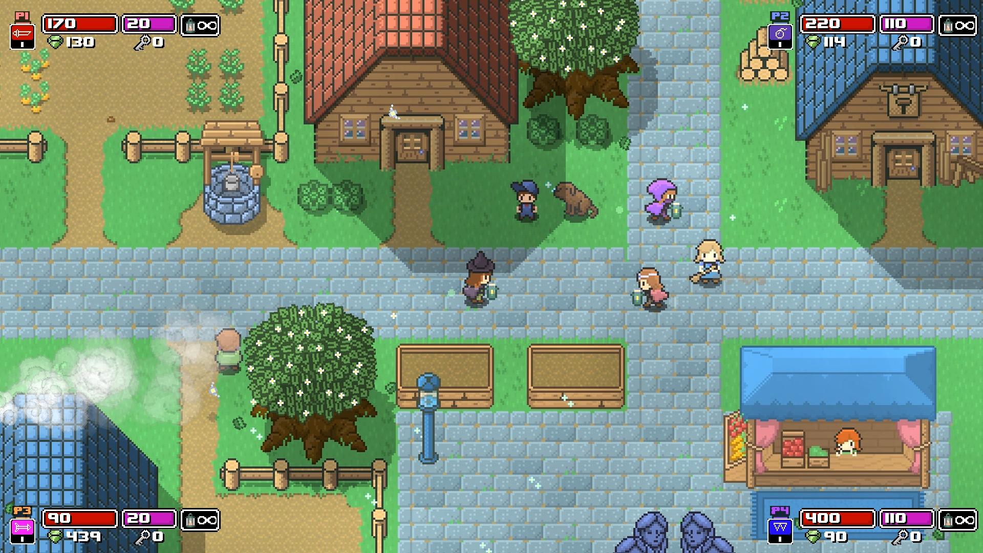 Rogue Heroes: Ruins Of Tasos Is A Roguelike Zelda