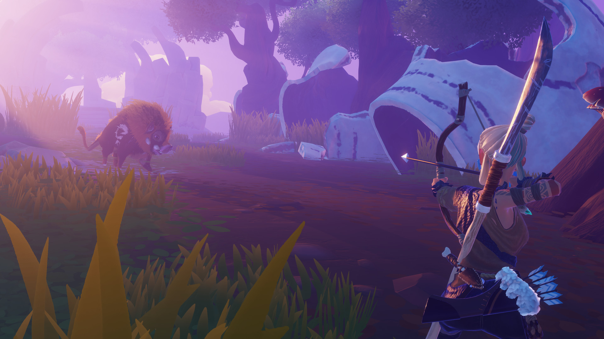 Windbound Looks A Breath Of The Wild Survival Game