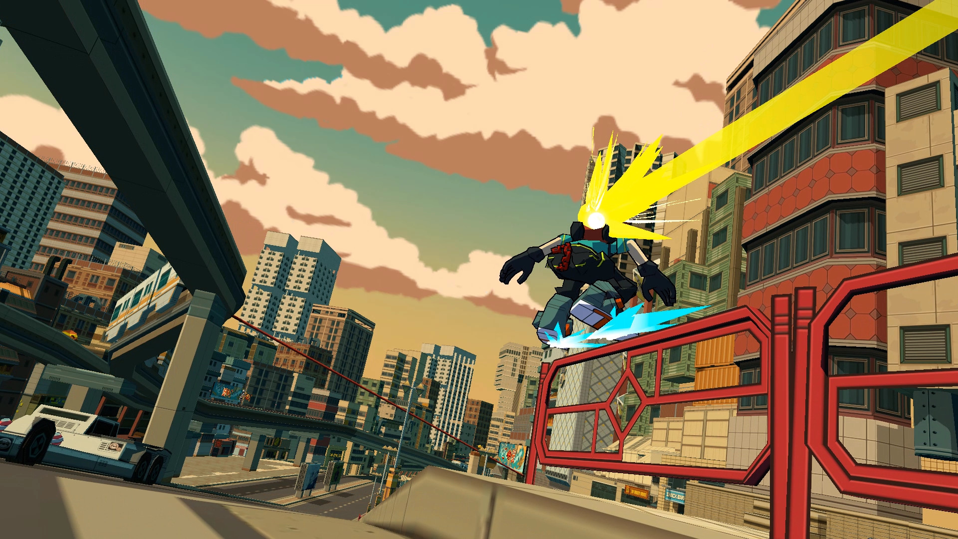 Bomb Rush Cyberfunk Is A Modern Jet Set Radio
