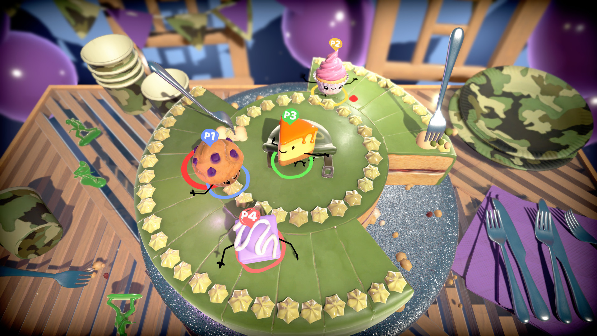 Cake Bash Looks Tasty And Hilarious