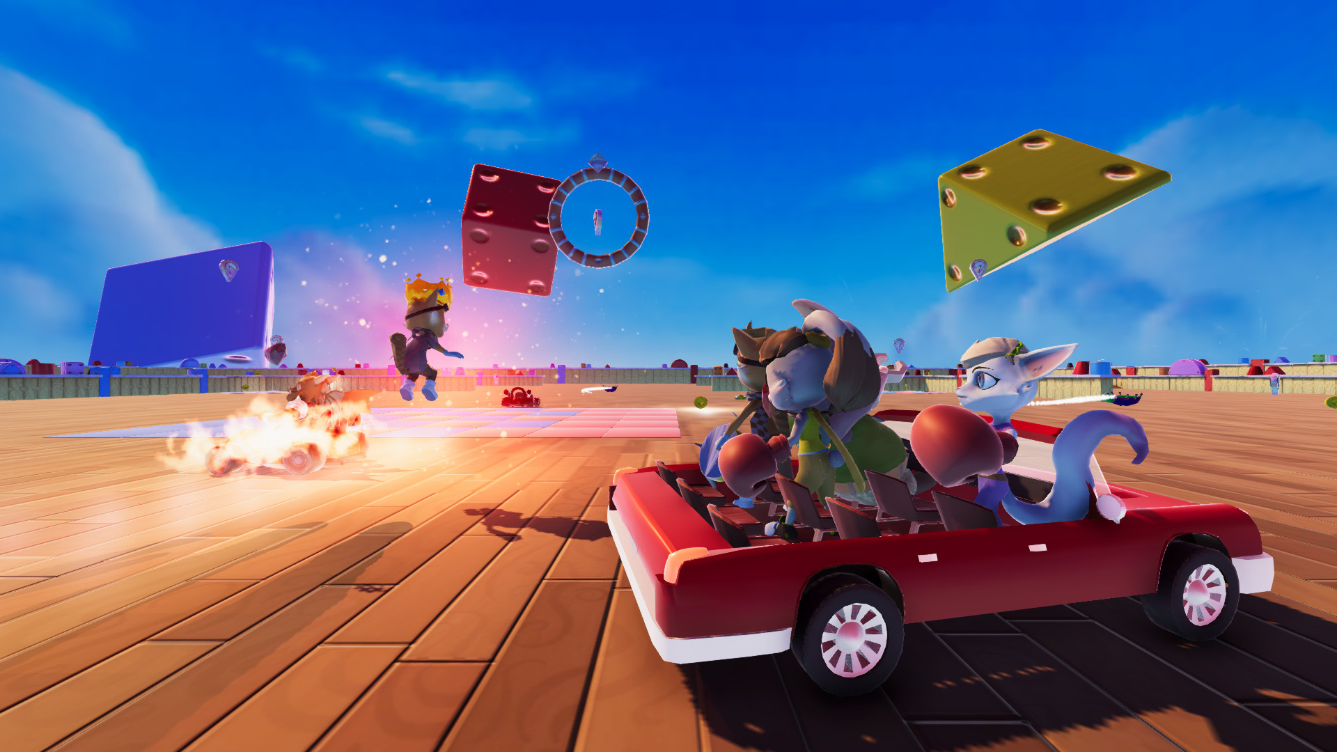 Crystal Chasers League Could Be An Indie Diddy Kong Racing