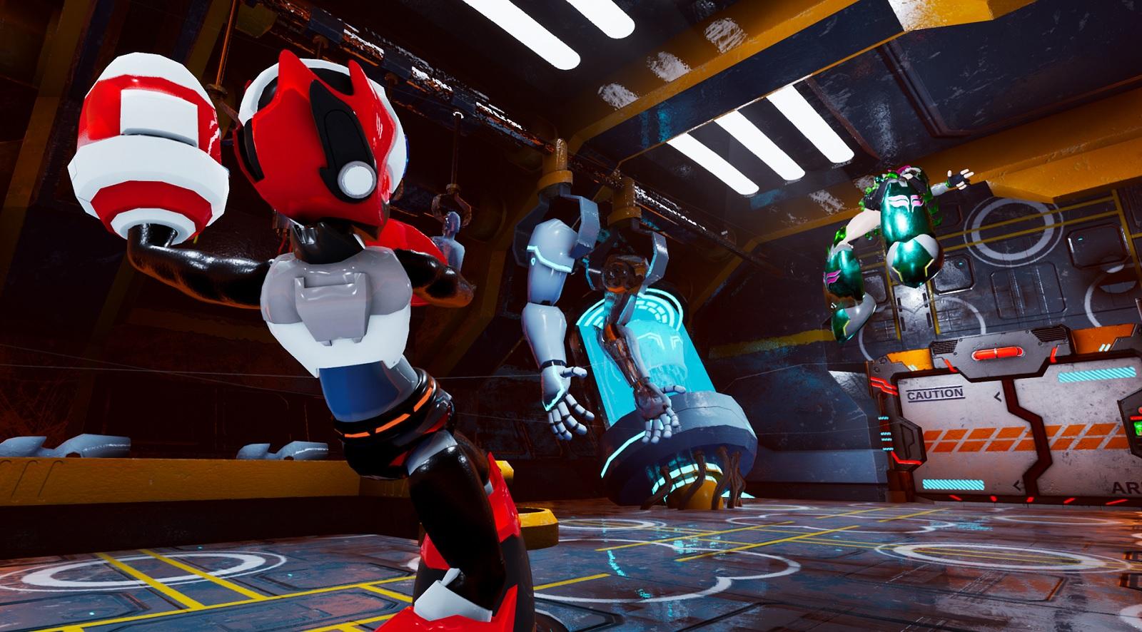 Action platformer Android Hunter A brings Mega Man into 2020