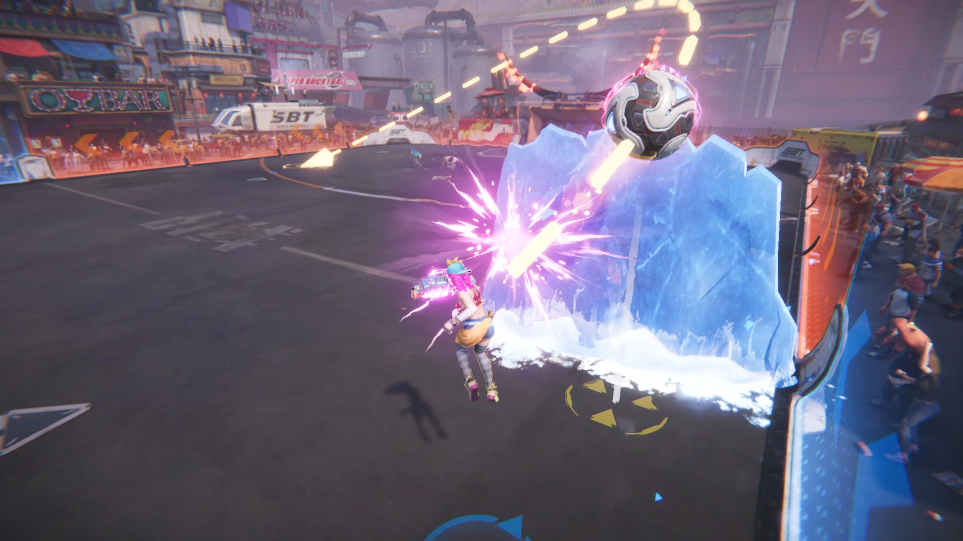 Super Buckyball Tournament Is Rocket League With Punch