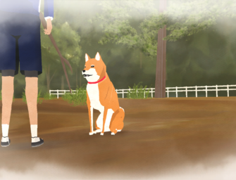 Earn the rights to pet a dog in A Shiba Story