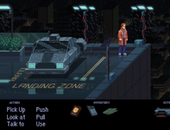 Invasive Recall is another promising cyberpunk point-and-click