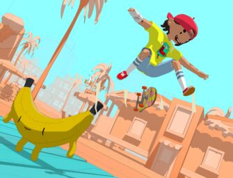 Skate through a pastel-coloured world in OlliOlli World
