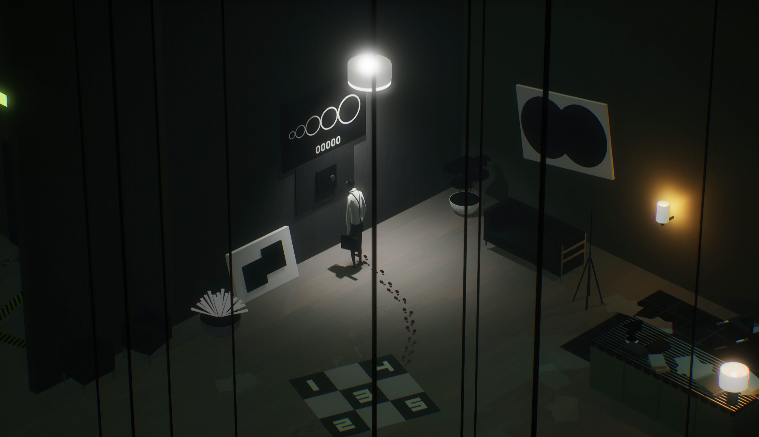 Navigate a moody, lifeless city in The Plane Effect
