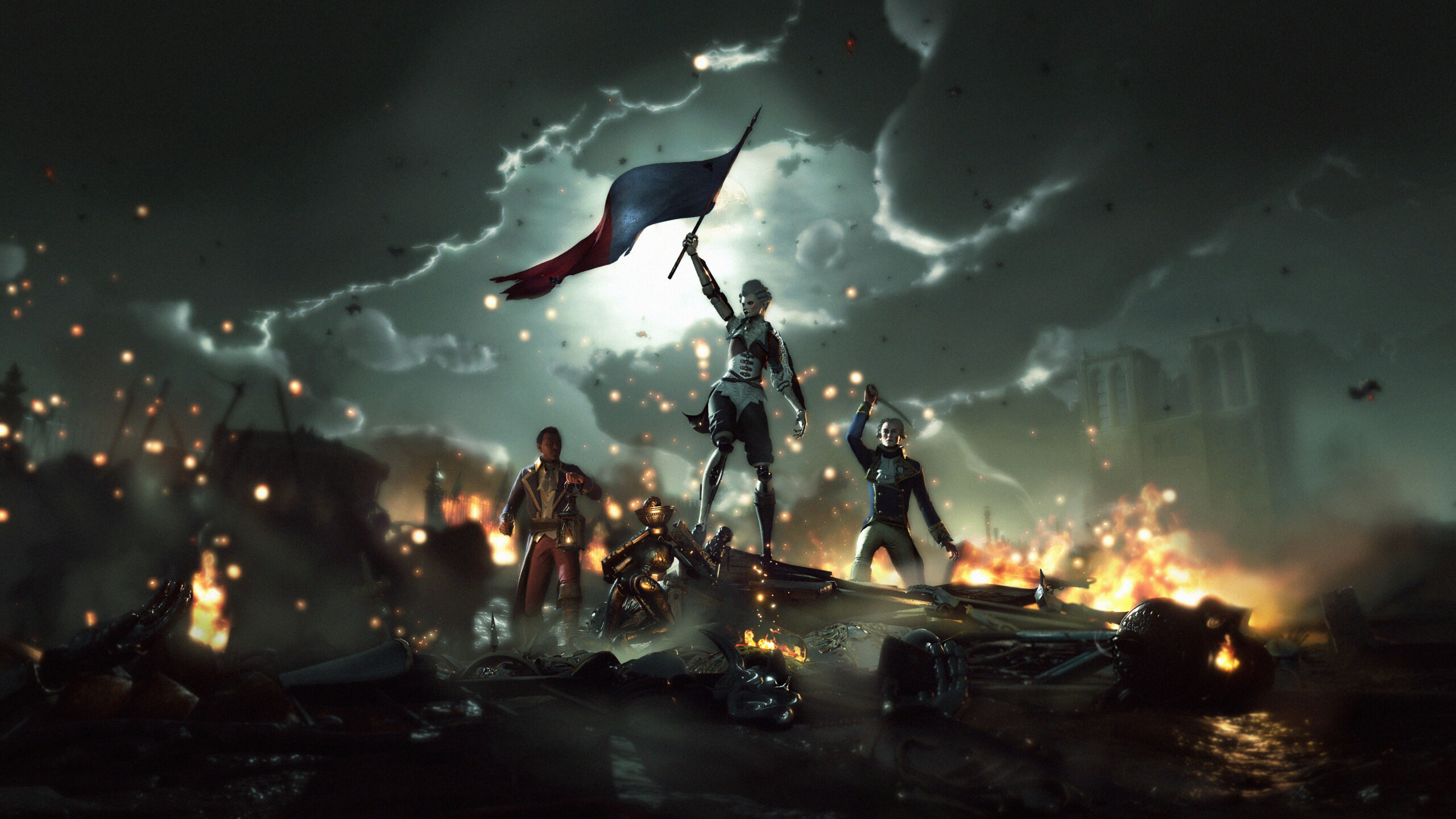 Steelrising retells the French Revolution with robots
